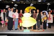 《一念之間》舉行啟播禮,廣播處長黃華麒及社署署長聶德權與眾嘉賓點亮燈籠,祝願家庭和睦,人月團圓。
