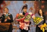 「優秀流行歌手大獎」得主張敬軒及謝安琪