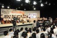 教育局副秘書長陳嘉琪博士與「太陽學堂」領袖生暢談如何克服困難、實踐夢想。