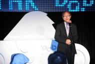 署理廣播處長戴健文為活動致辭,表示港台聲音廣播正式展開數碼新里程。