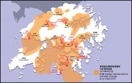 香港電台模擬電視訊號覆蓋圖 (2016年4月2日)