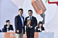 香港浸會大學的隊員朱偉東同學贏得評判一致好評,最後榮膺「最佳辯論員」。
